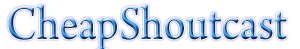 Cheap Shoutcast logo